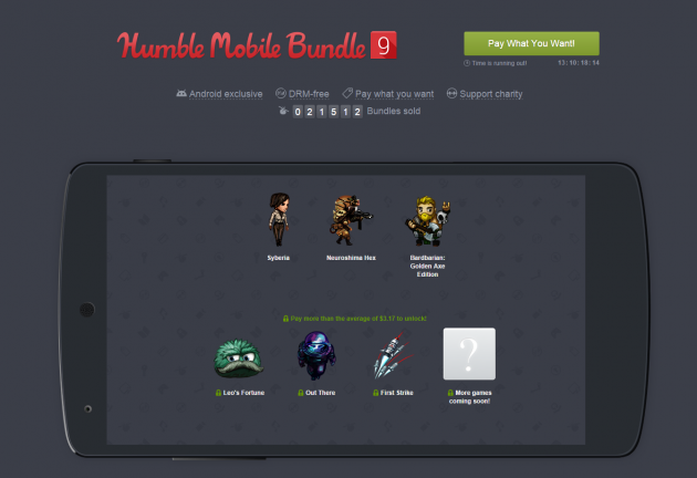 humble bundle android 9