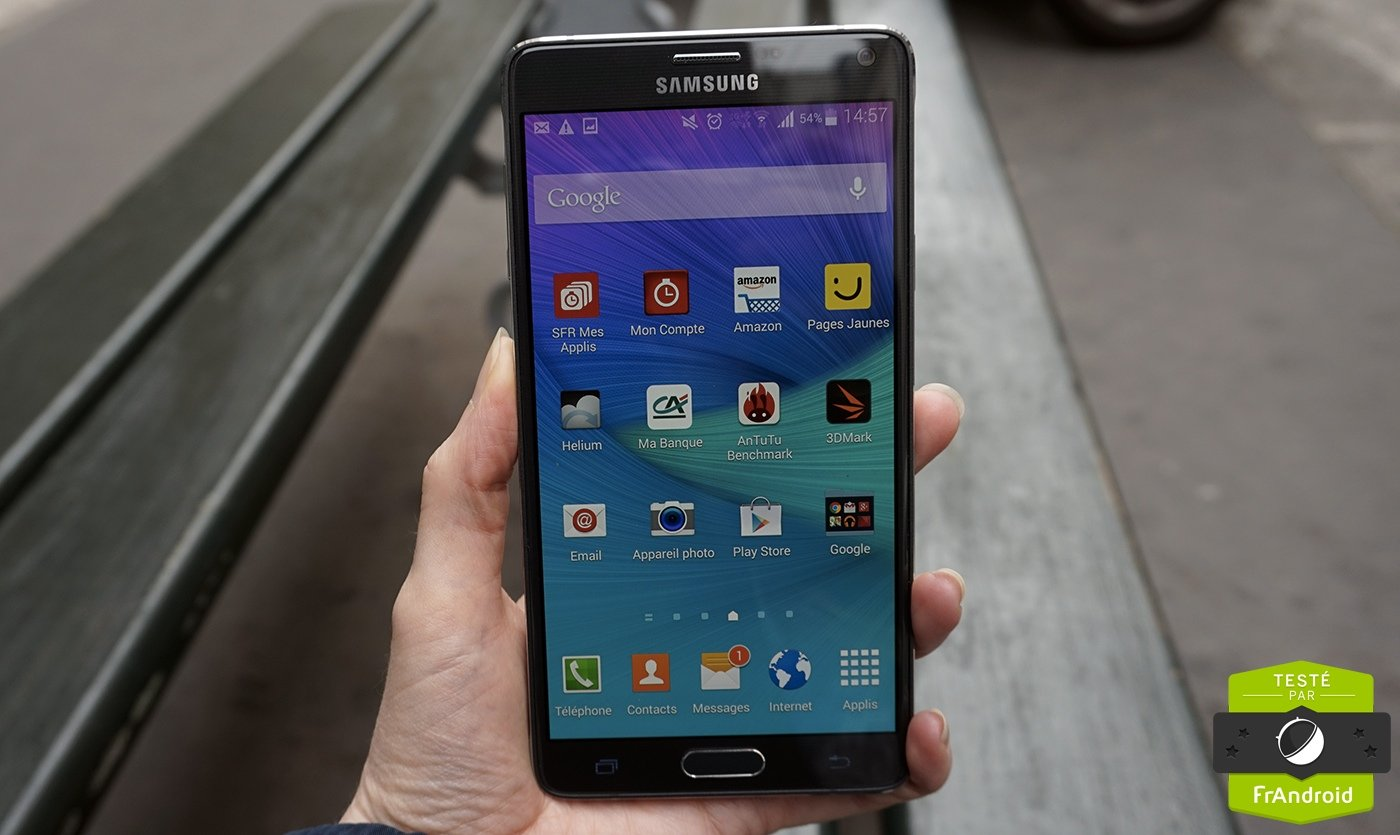 7d4d9a33f Test Samsung Galaxy Note 4   notre avis complet - Smartphones ...