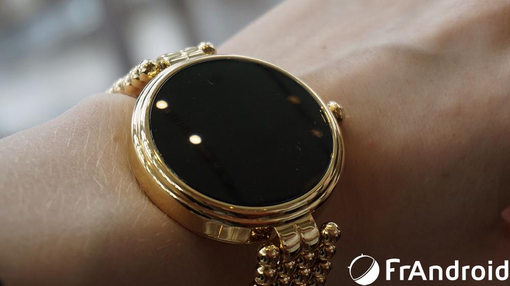 omate veut convaincre les femmes de passer aux smartwatchs avec sa lutetia frandroid. Black Bedroom Furniture Sets. Home Design Ideas
