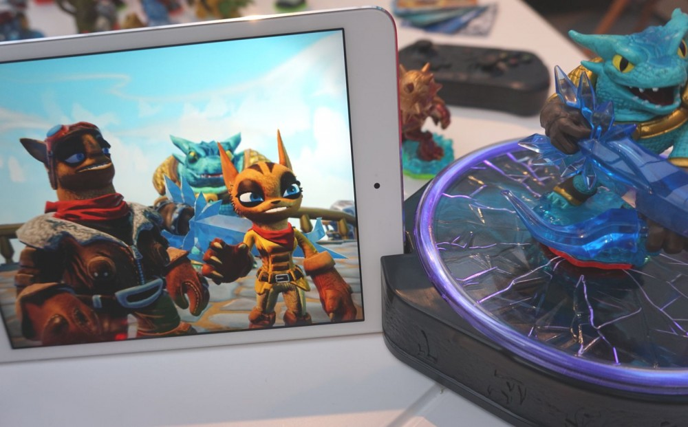skylanders trap team tablette 5