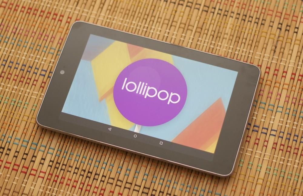 Nexus 7 2012 Lollipop