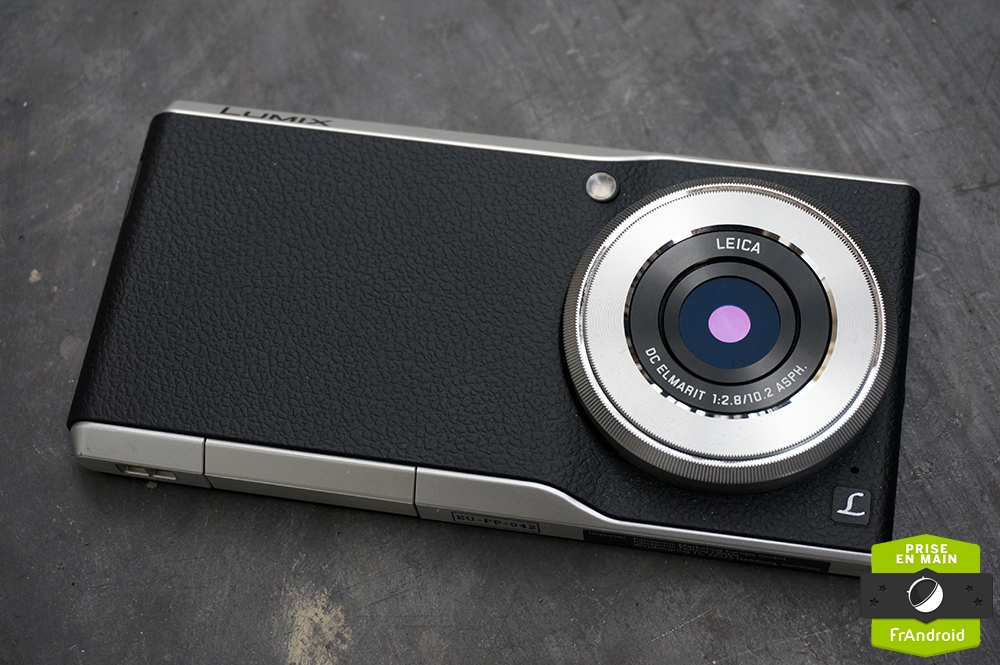 Prise en main du panasonic lumix dmc cm1 un compact for Changer ecran appareil photo lumix