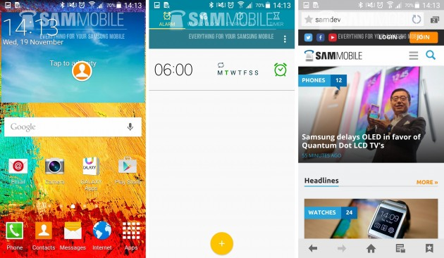 galaxy note 3 lollipop 2