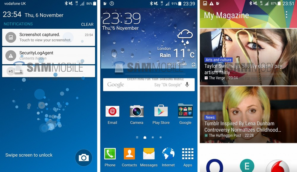 galaxy s4 touchwizz lolllipop