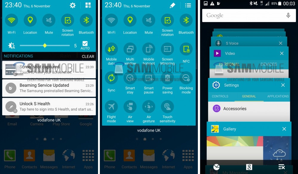 galaxy s4 touchwizz lolllipop 2