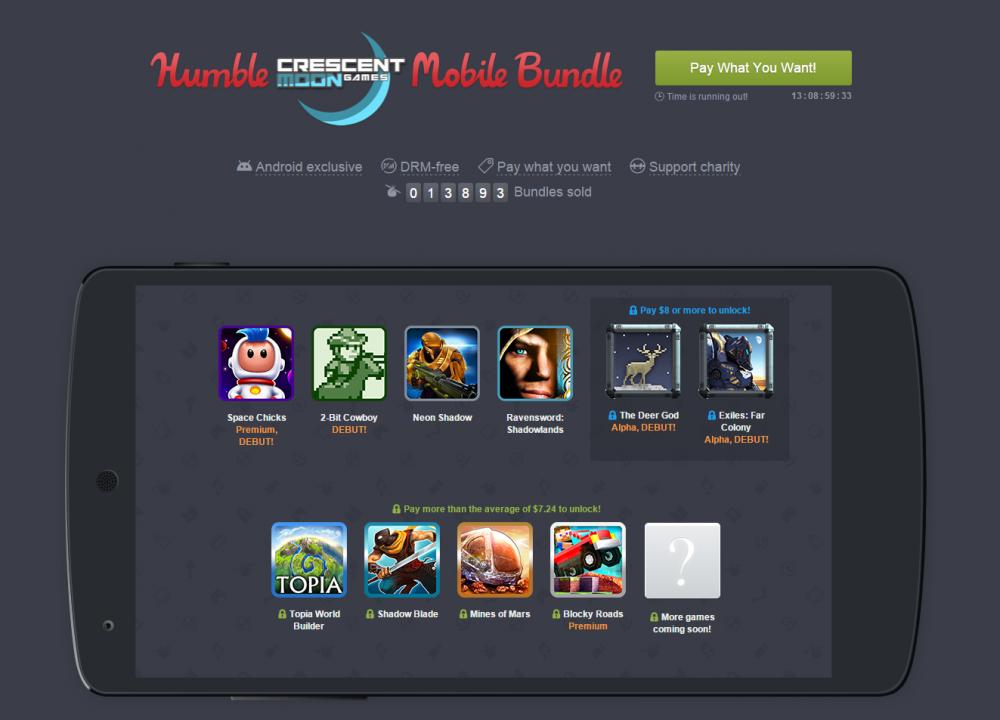 humble bundle crescent moon games