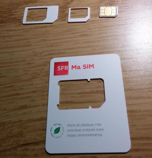 carte sim nano sfr Bouygues Telecom, Orange et SFR fournissent désormais des cartes
