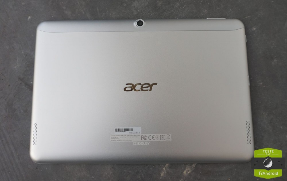 Acer Iconia Tab 10 test 2