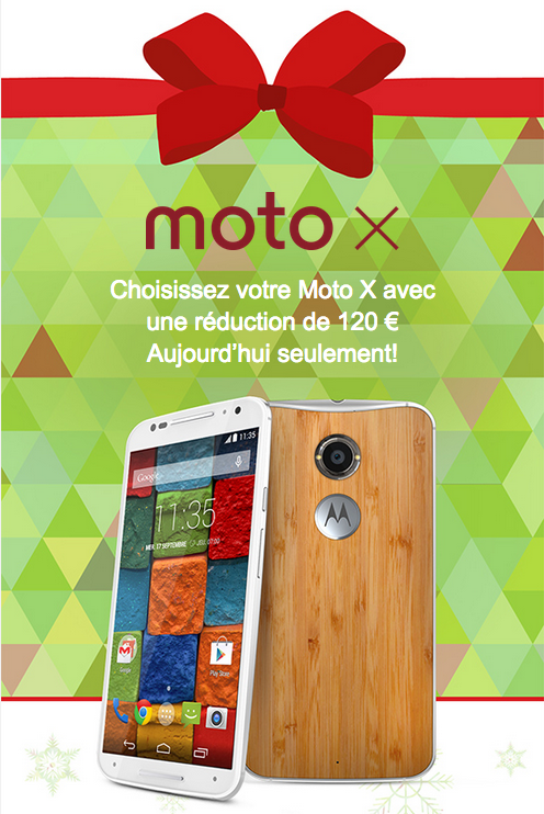 Moto X Cyber Monday