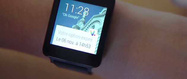 Voyages SNCF Android Wear