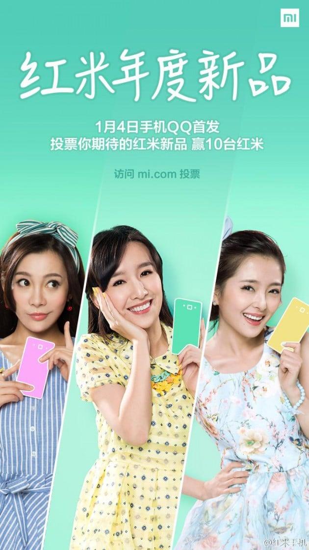 Xiaomi Redmi 1S 4G teaser