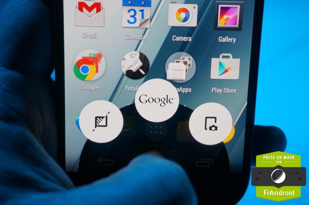 Yota reste et restera sous Android