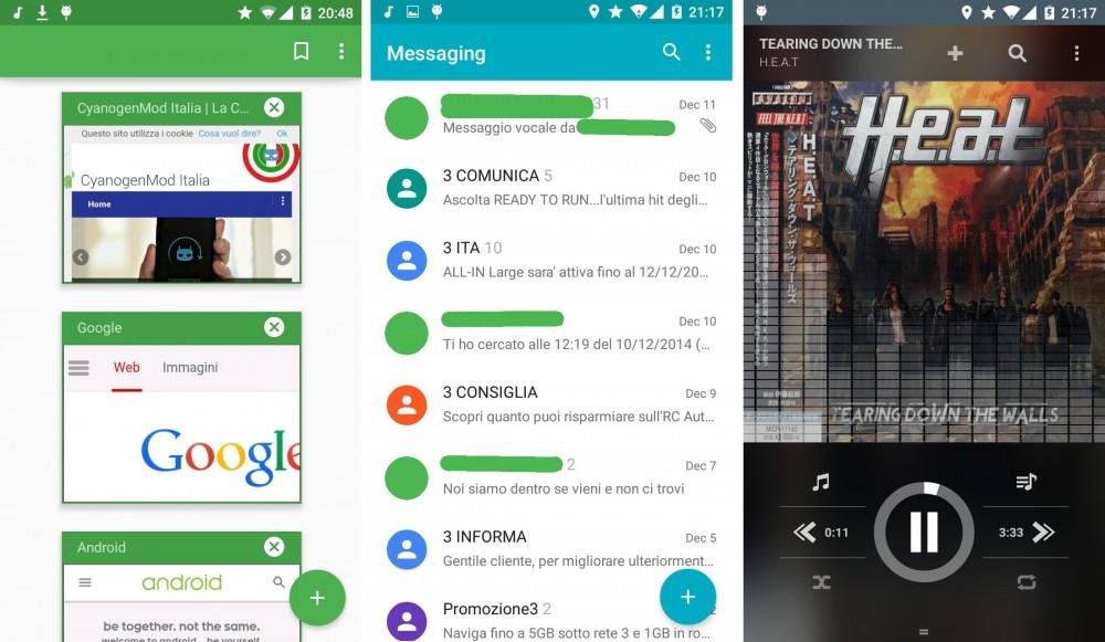 cyanogenmod 12 screen 2