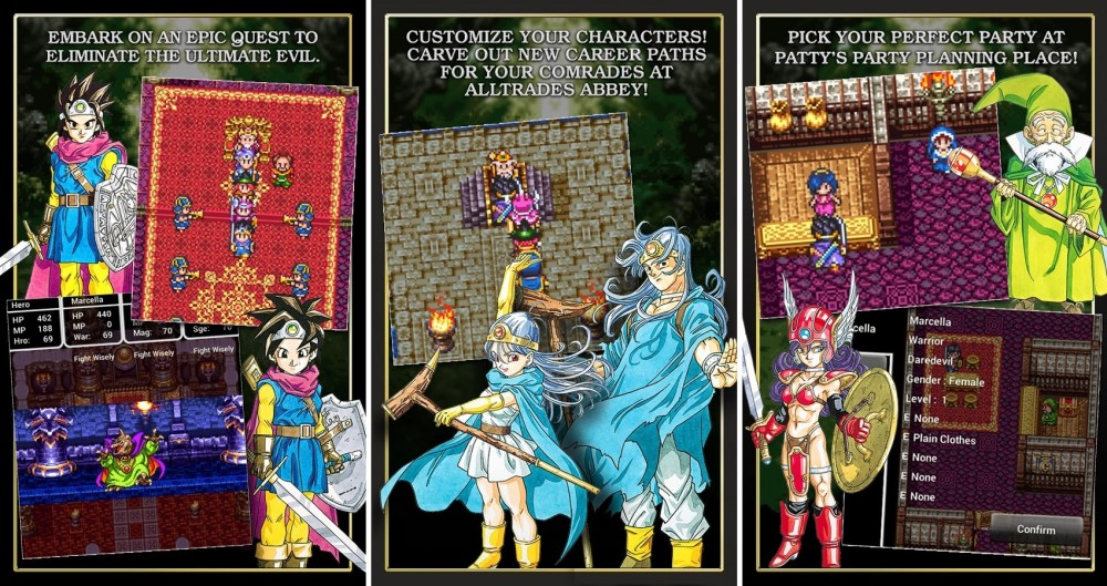 dragon quest 3 android
