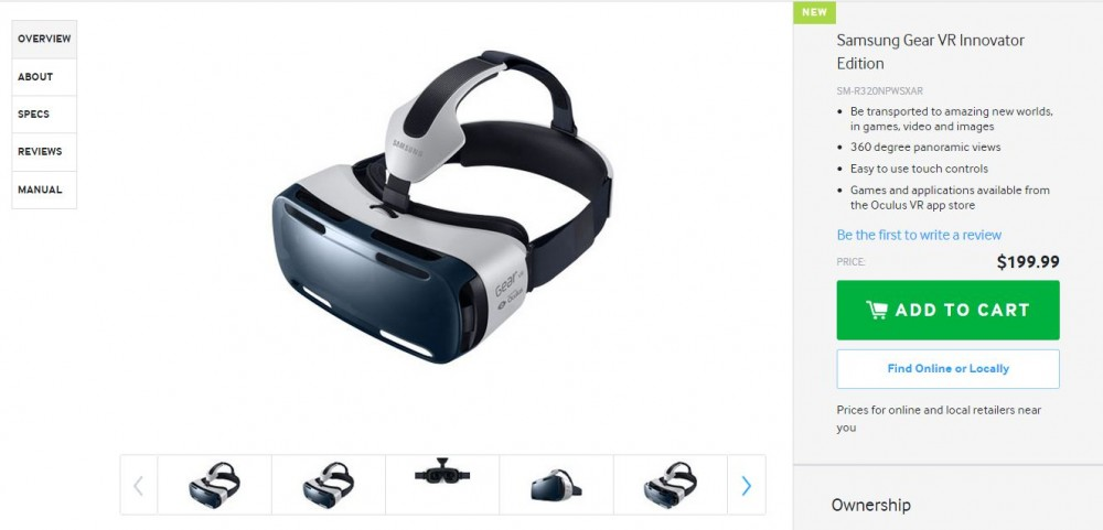 gear vr boutique samsung