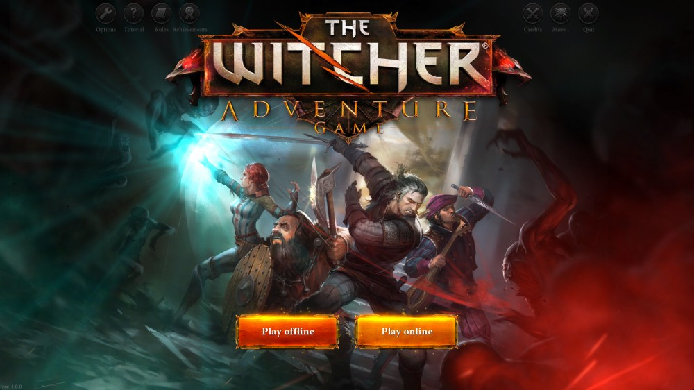 the witcher the adventure game