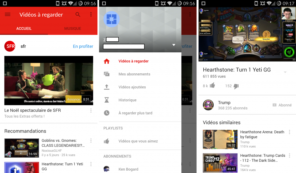 youtube 6-0 material design