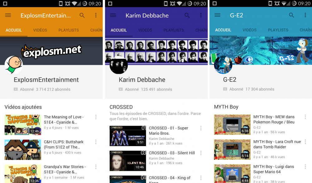 youtube 6-0 material design 2