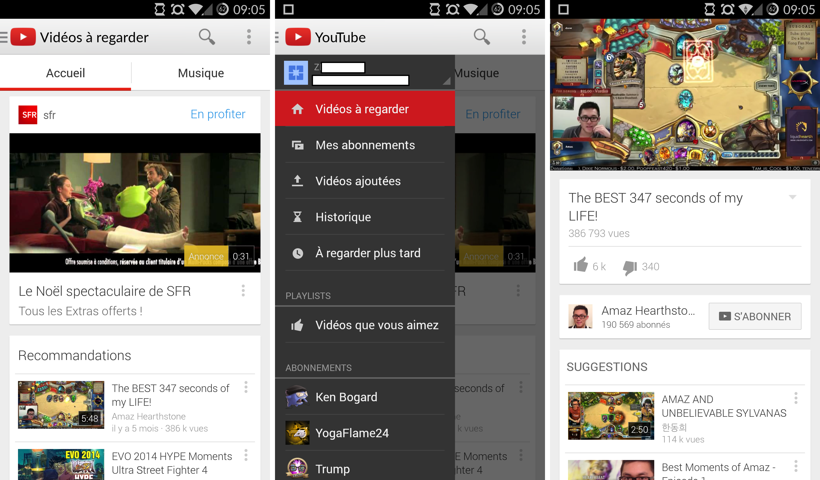 youtube old version for android