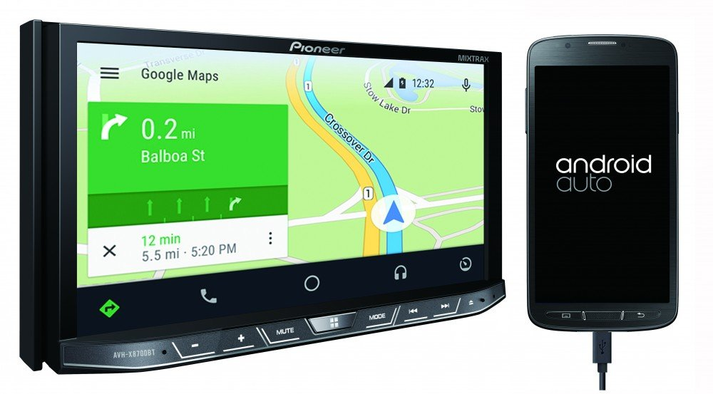 AVH-X8700BT_coté_Android Auto_HD
