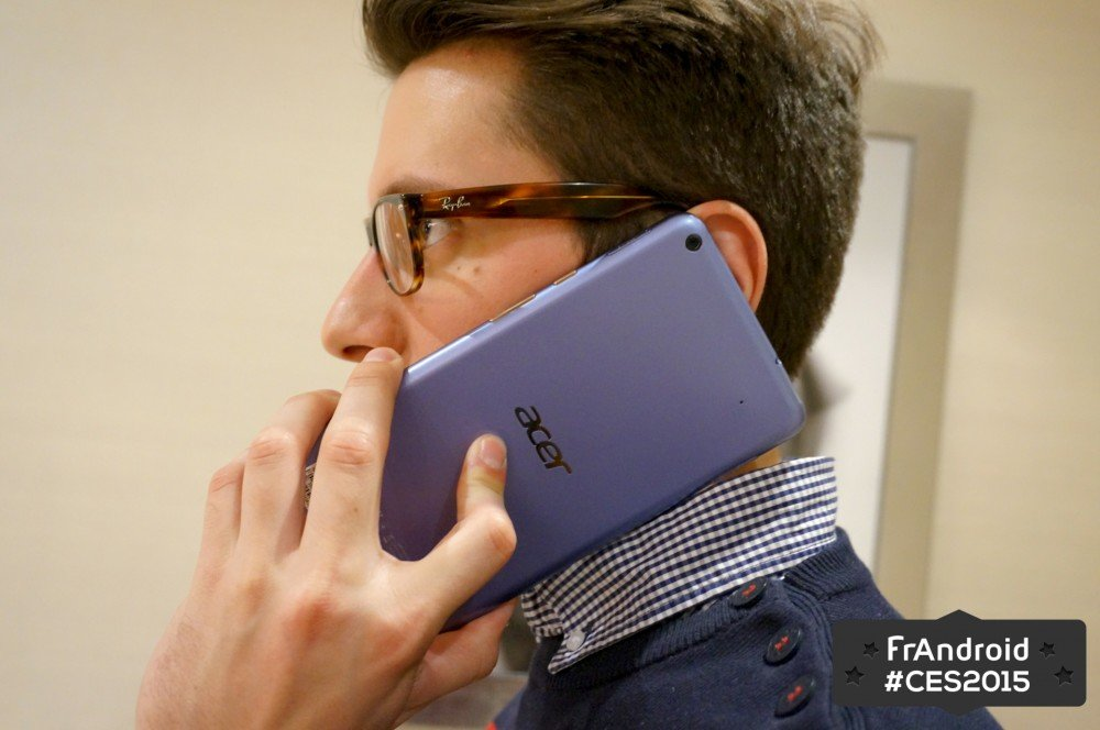Acer Iconia Talk S : prise en main de cette phablette 4G double-SIM de 7 pouces