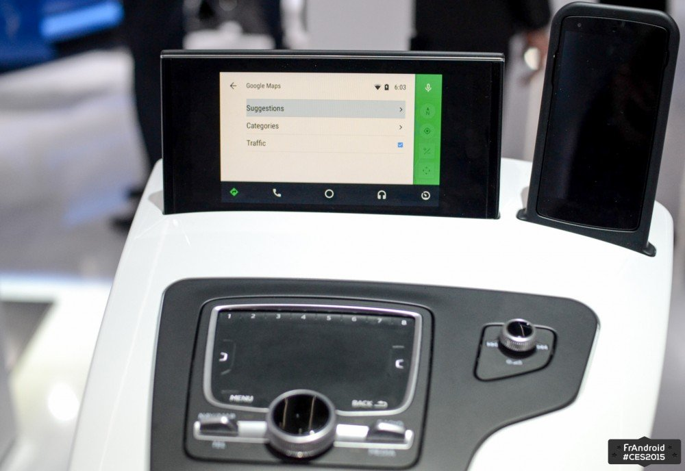 Android Auto CES 2015-1