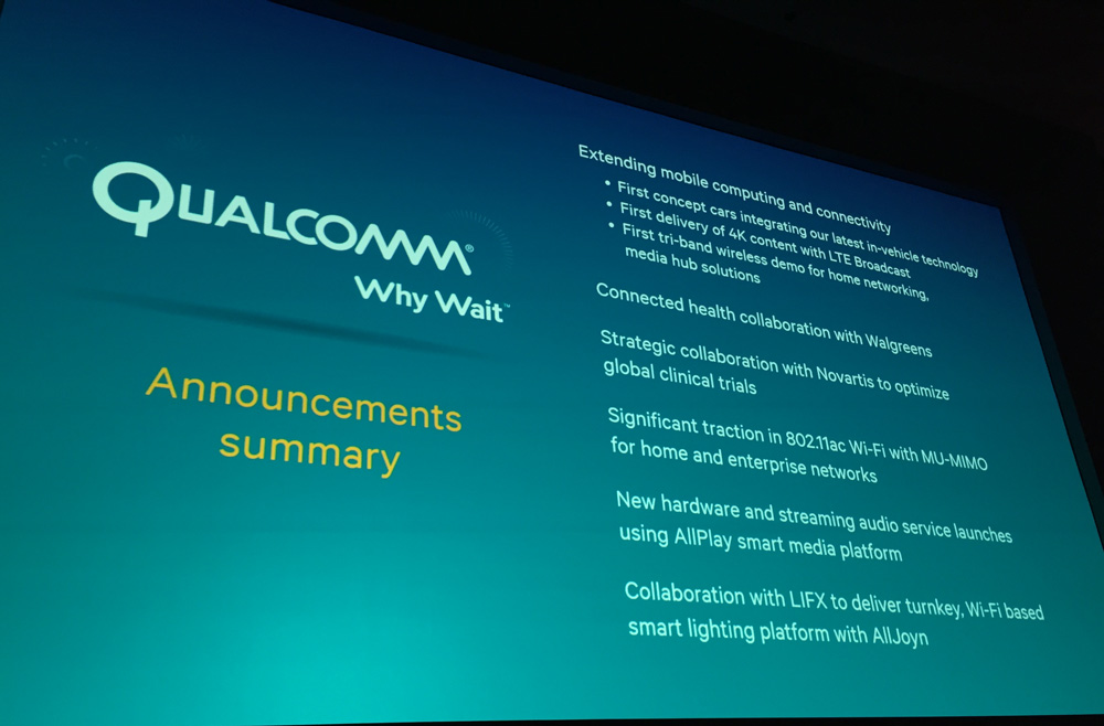 qualcomm lance le snapdragon 810 d ment tout retard et parle d 39 objets connect s frandroid. Black Bedroom Furniture Sets. Home Design Ideas