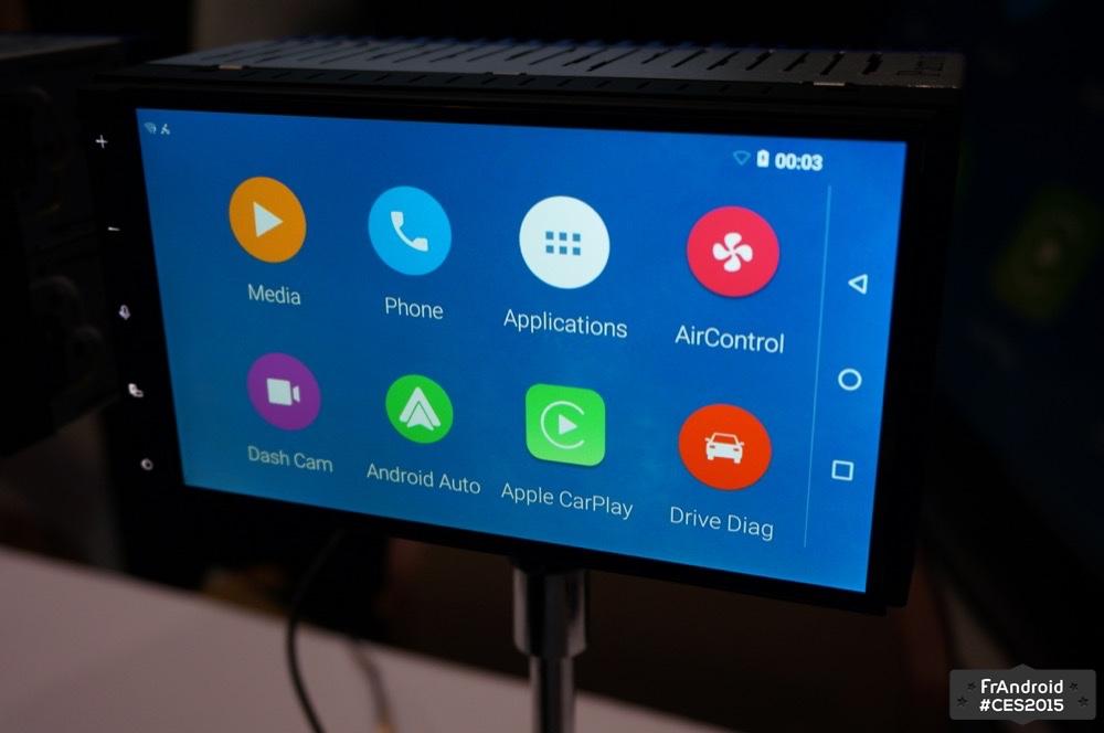 Parrot RNB6, l'auto-radio avec du Lollipop, de l'Android Auto et du Apple CarPlay