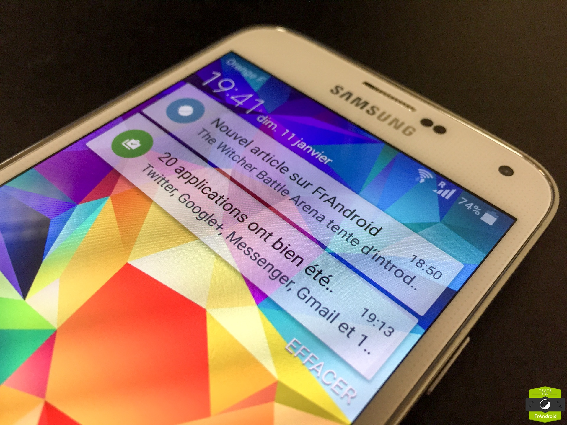 Samsung Galaxy S5 Lollipop Est Arrivé Et Voici Les Changements Qu