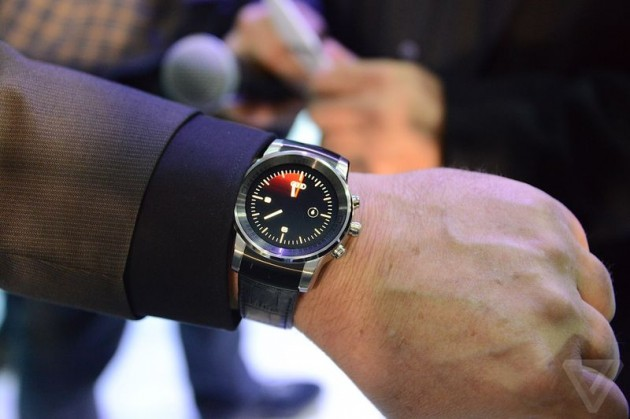 LG G Watch R version Audi