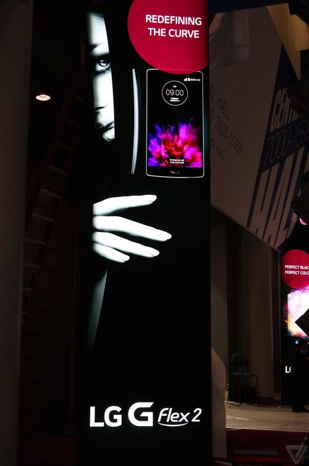 LG G Felx 2 poster CES