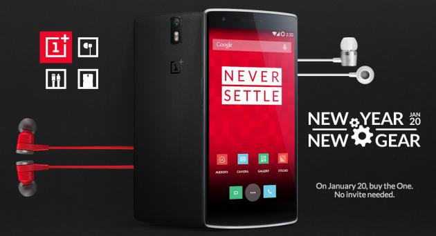 OnePlus One 20 janvier