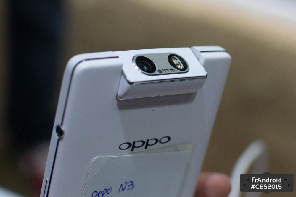 Prise En Main De L Oppo N3 Le Smartphone Au Module Photo