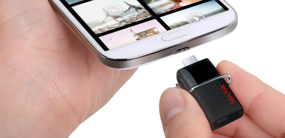SanDisk annonce une nouvelle clé USB pour les smartphones ...