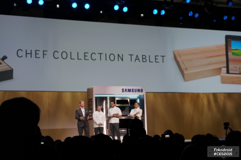 Tablette Chef Collection