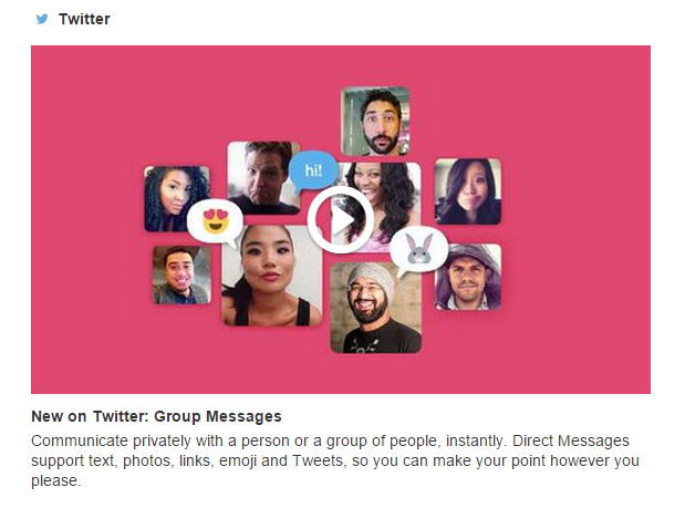 twitter message prives video