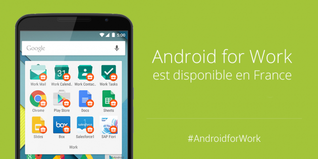 Android-for-Work-France