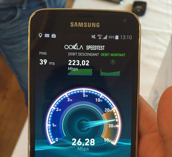 Bouygues 260 Mbps