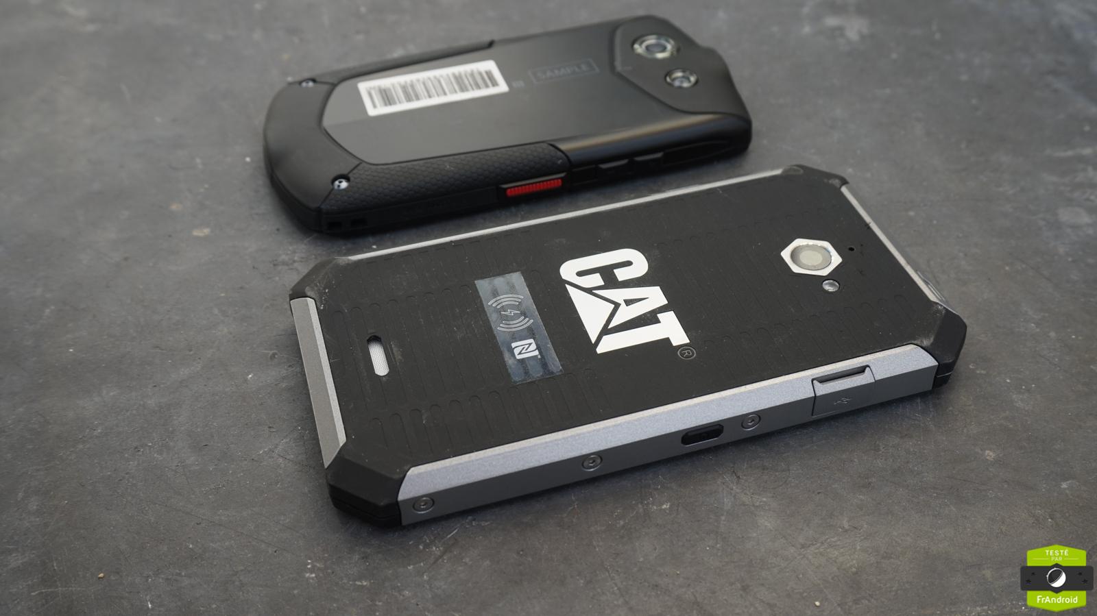 Smartphones baroudeurs 4G : les Cat S50 et Kyocera Torque