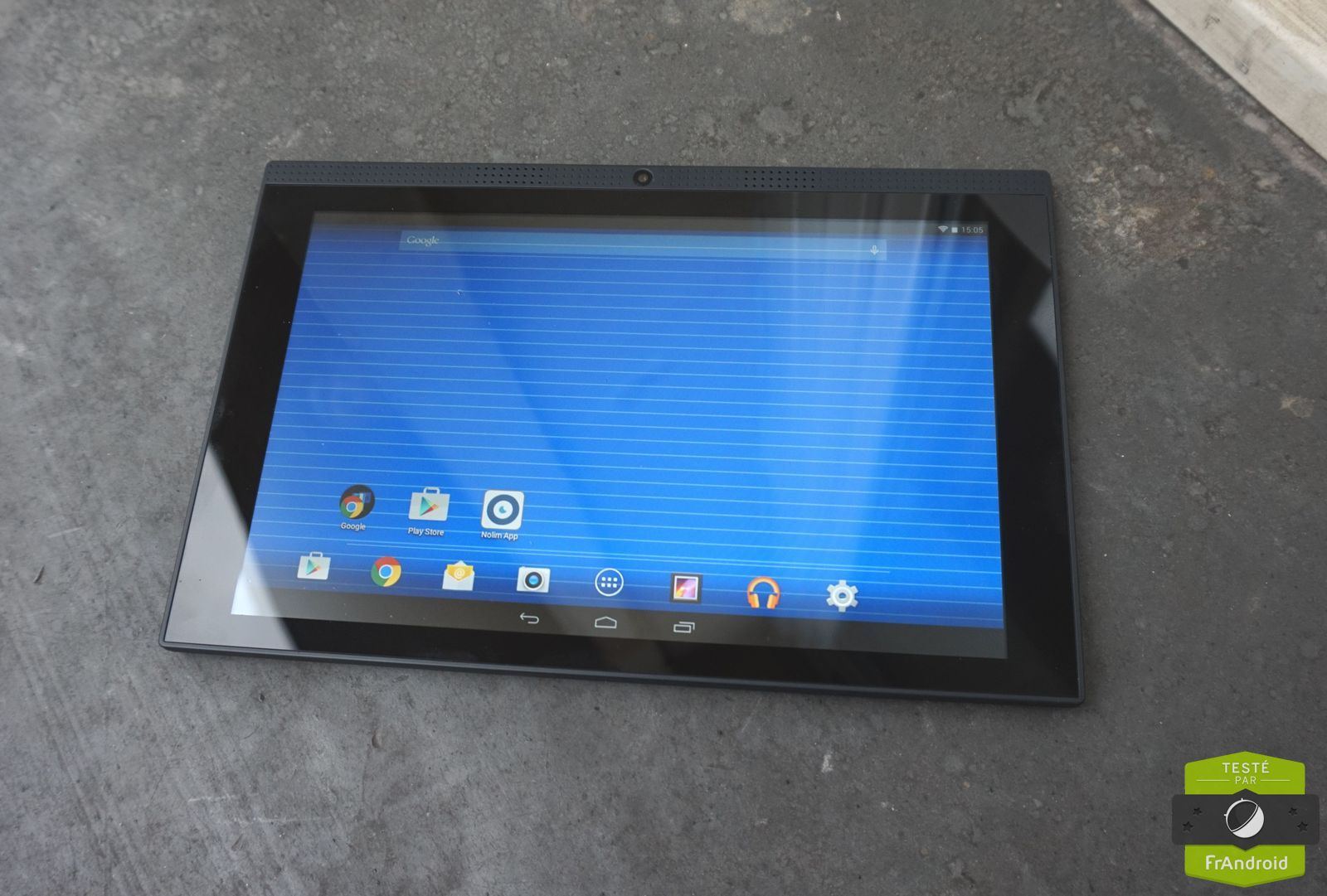test de la poss touch tablet 10 fluo un v8 dans une. Black Bedroom Furniture Sets. Home Design Ideas