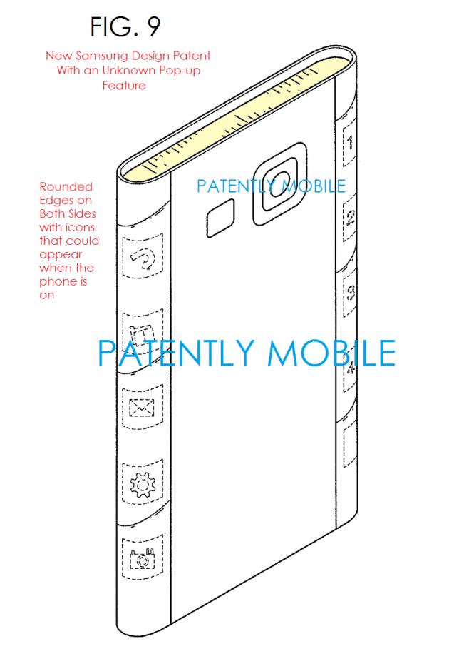 Galaxy S6 Edge brevet 2