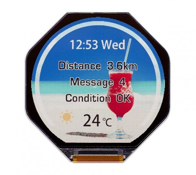 JDI 1.34 smartwatches