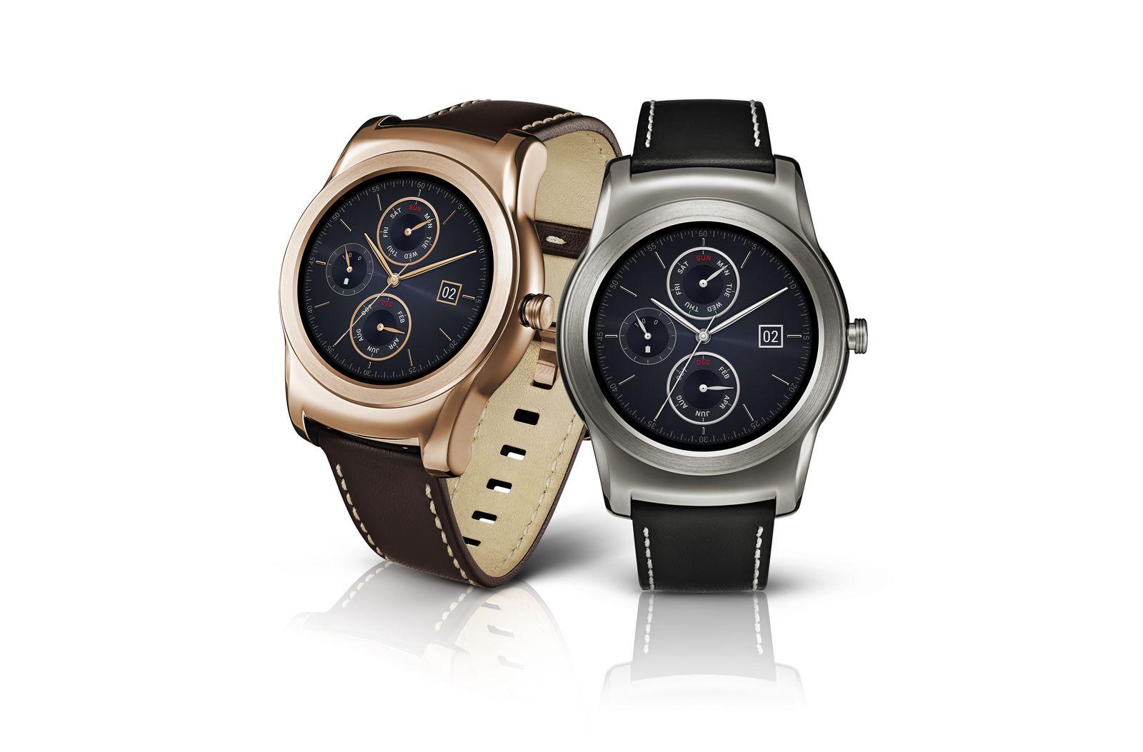 Android Wear 2.0 s'invite sur les LG G Watch R et Urbane