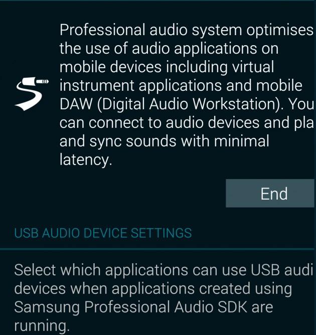 Professional-audio-driver-settings