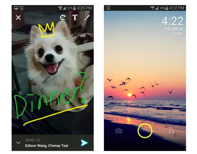 ScreenPop Lockscreen