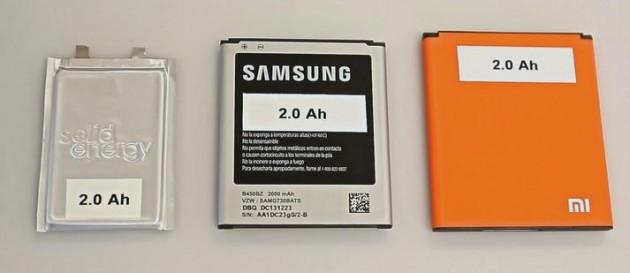 SolidEnergy batterie