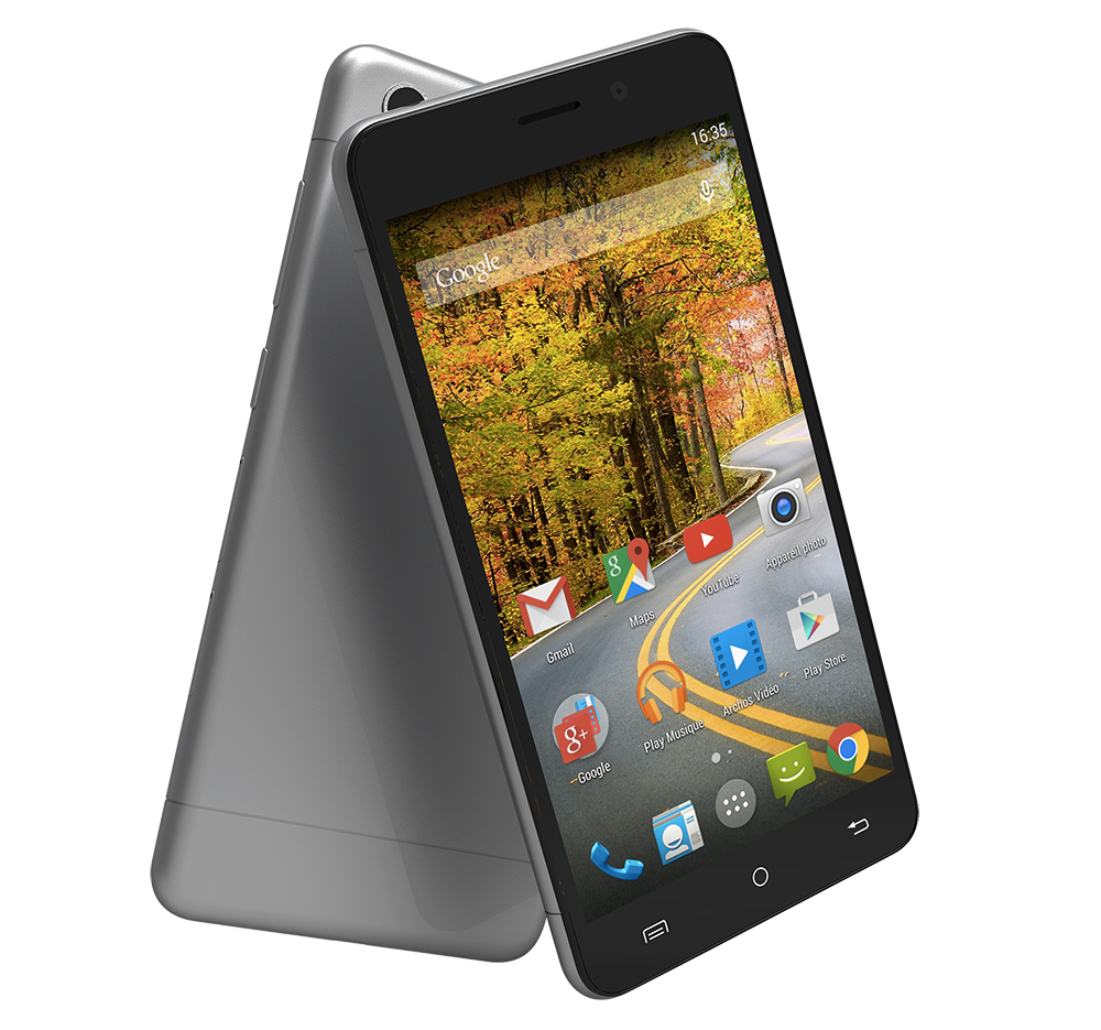 archos 50 oxygen plus un cran 5 pouces la 4g et un design r ussi pour 199 euros frandroid. Black Bedroom Furniture Sets. Home Design Ideas