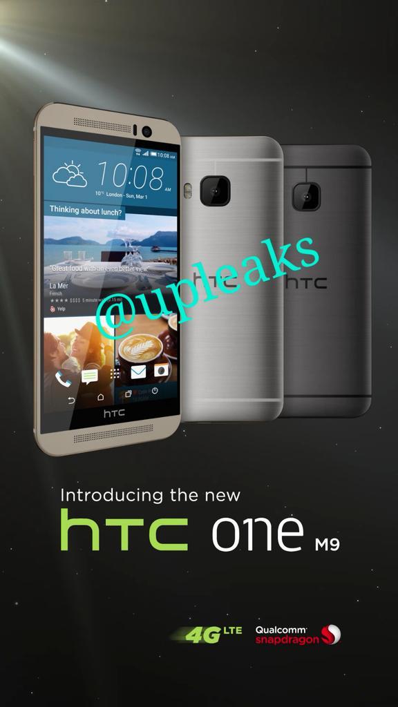 leak htc one m9 1