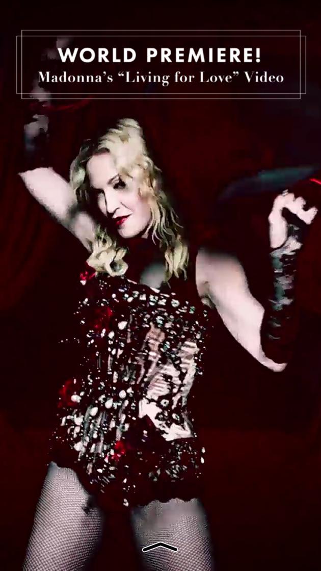 Madonna Snapchat