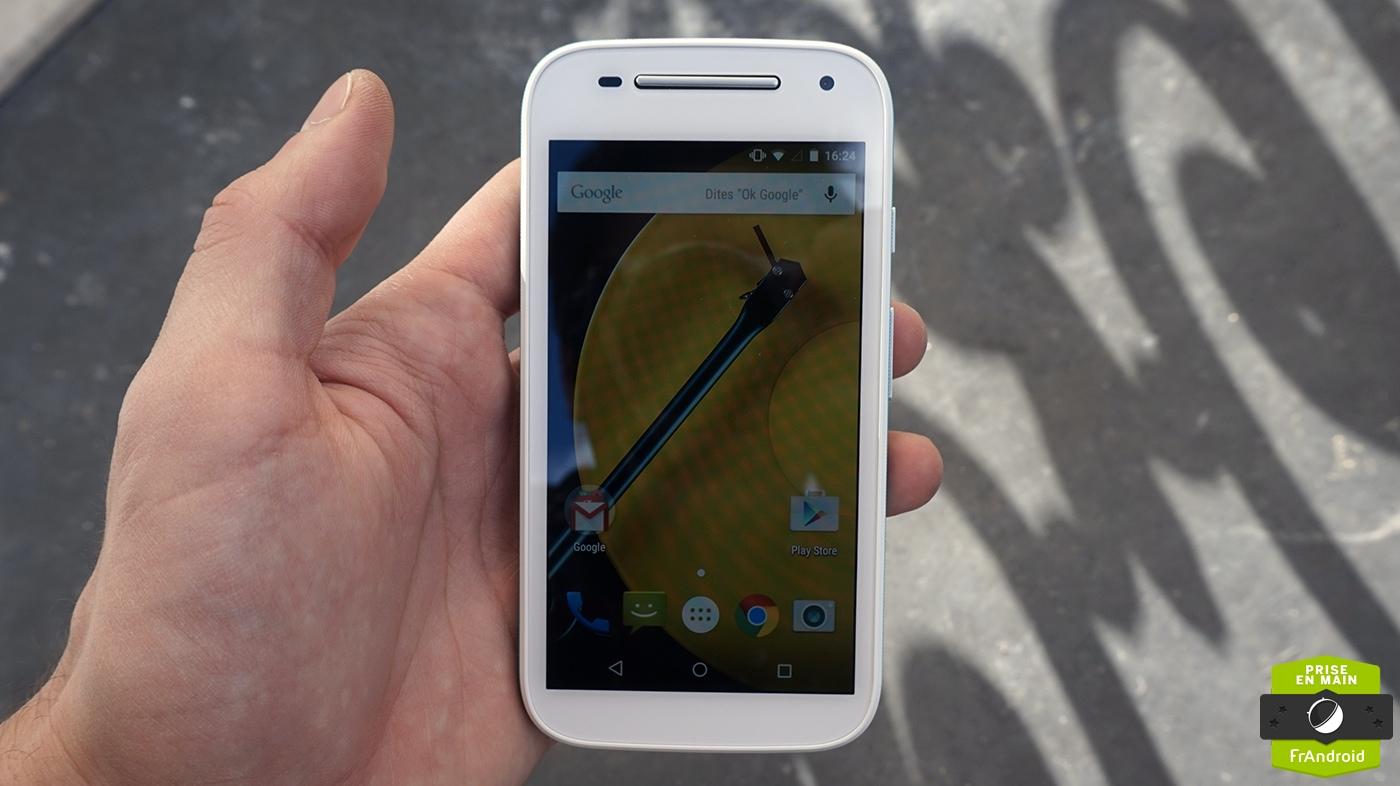 Prise En Main Du Motorola Moto E 4g Petit Mais Rapide